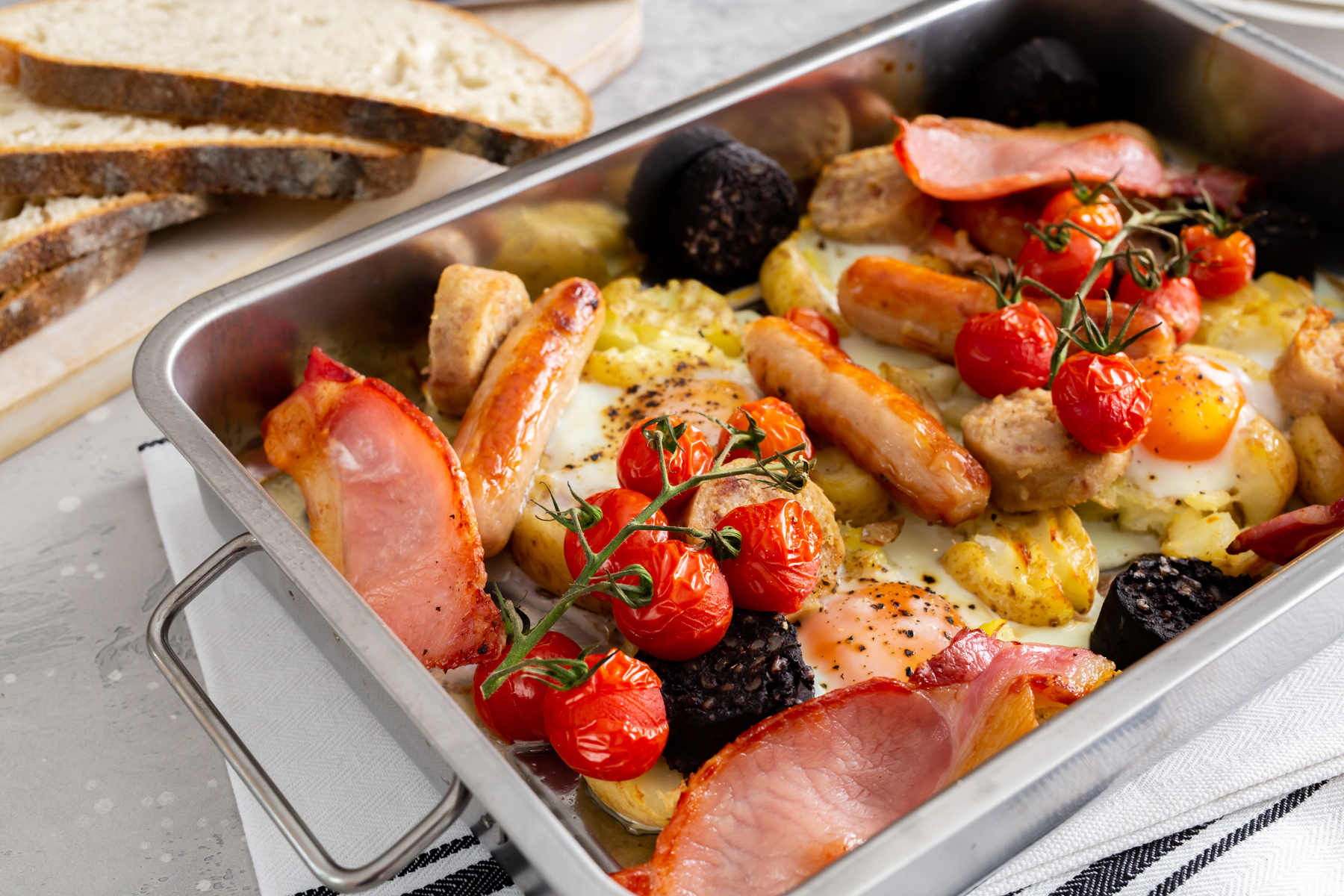 Breakfast Tray Bake